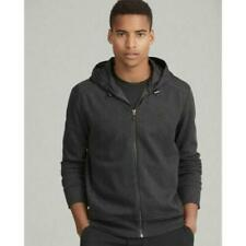 $288 POLO Ralph Lauren Collection NEW Men's S Gray HERRINGBONE Zip Hoodie Jacket