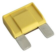 Fusible grand jaune MAXI 20A 6V 12V 24V 32V 29mm pour voiture camion utilitaire