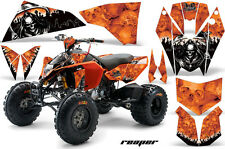 AMR Racing KTM 450/525 XC ATV Graphics Decal Kit Quad Stickers 08-13 REAPER ORNG