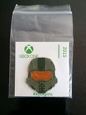 HALO 5 PROMO PIN - 2015 - XBOX ONE - RARE ! ! SERIOUS OFFERS ARE WELCOME ! !