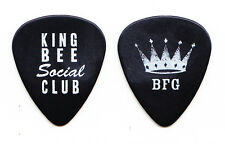 ZZ Top Billy Gibbons King Bee Social Club Guitar Pick - 2010