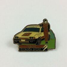 citroen sport - reseau pin badge - classic car - AX - race - rally