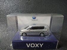 Box Damaged TOYOTA VOXY LED Light Keychain Silver Metallic Model Car