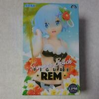 SEGA Re: Zero Rem Limited Premium Figure Summer Beach Free-shipping 2019