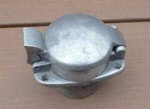 Vintage Flip Top Gas Cap Aluminum Fuel Filler Hot Rod Custom Marine REAL DEAL NR
