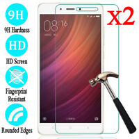 2Pcs For XiaoMi Redmi 6 5 4 3 S2 Tempered Glass Screen Protector Protective Film