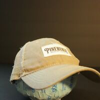 Pinehurst Brewing Trucker Hat Cap Mesh Tan Khaki Hipster Snapback