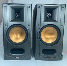 New listing Klipsch Reference Rb-25 Bi-amp Bookshelf Speakers (pair)Black