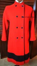 Gorgeous Ladies Hudson Bay Full Length Red Coat Size 8 Made In England