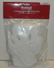 RIDDELL YOUTH 3-Piece HIP PAD SET WITH SLOTS 70515 Universal Football Pants Set