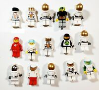 Lego Astronaut Shuttle Ship Space Port Random City Town Minifigures Lot of 10