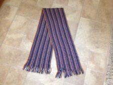 chelsey striped wool winter scarf