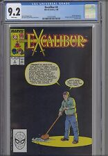 Excalibur #4  CGC 9.2 1989 Marvel Comic : NEW Frame
