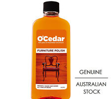 New O'Cedar Furniture Polish & Protector 300ml  - For all Wood Types
