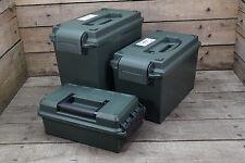 US Munitionskiste Kunststoff oliv Transportbox 3 Größen Ammo box abschließbar