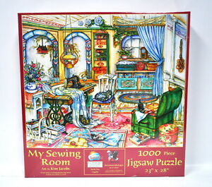 My Sewing Room Jigsaw Puzzle 1000 Piece