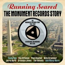 Running Scared - Monument Records Story 1958-62 [New CD] UK - Import