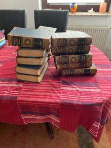 Komplettes Brockhaus Konversationslexikon von 1898 in 17 Bänden
