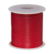 14 AWG Gauge GXL Automotive Stranded Hook Up Wire, 25 ft, Red, 60 Volts
