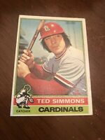 1976 Topps Ted Simmons #290 Cardinals Baseball Card