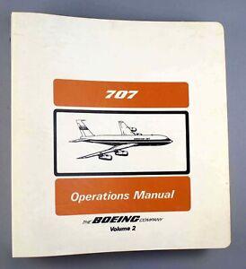 IRAQI AIRWAYS BOEING 707-370C OPERATIONS MANUAL VOLUME 2 AIRLINE PILOT AIRCRAFT