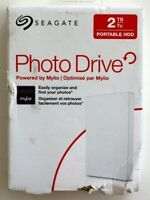 Seagate 2Tb Photo Drive Model STJ2000400 - Powered By Mylio