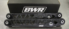 Blackworks BWR Rear Lower Control Arms LCA 96-00 Honda Civic EK Wrinkle Black