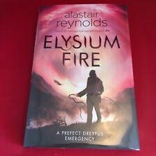Elysium Fire - Alastair Reynolds - Signed First Edition Hardback HB - BRAND NEW