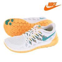 Nike Zapatilla para Correr Free 5.0 en Blanco Mujer Art. 642199-101 Sbt