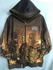 Lng Root & Equipment Track Jacket Brown Downtown Light Up Building M