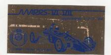 SCCA Dash Plaque MARRS VI  VII 1984 SUMMIT POINT RACEWAY Washington D.C.
