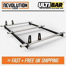 Ford Transit Connect SWB Roof Rack Bars 3 x Van Guard ULTI Bar System 02-13