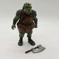 Vintage 1983 Star Wars Gamorrean Guard Action Figure Complete Original Axe