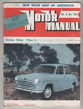 Motor Manual 1954 Jun 15 102 Hudson Super Jet Aston Martin DB 2-4 Ford Continent