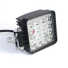 2X 48W LED Work Flood Square Spot Light 12V 24V Off Road Truck 4x4 Boat SUV Lamp