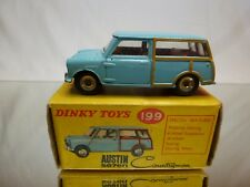 DINKY TOYS 199 AUSTIN SEVEN COUNTRYMAN  - BLUE1:43 - GOOD CONDITION IN BOX