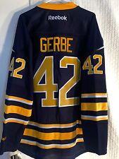 Reebok NHL Jersey Buffalo Sabres Nathan Gerbe Navy sz S