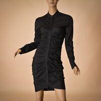 Strenesse Gabriele Strehle women dress size GB8, D36, US4 black Authentic