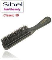 Sibel Women Girls Men Natural Pure Boar Bristle Hair Brush Wooden Hairbrush C-59