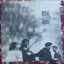 LP Boom Crash Opera 1987 CAT# 2549271 1st Edition / Promo Australian Pressing