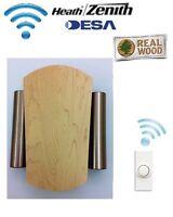 Desa Elegance 76 - Wireless Cordless Door Bell Chime Kit & Wireless Push Button