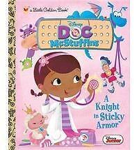 A Knight in Sticky Armor (Disney Junior: Doc McStuffins) (Little Golden Book) Po