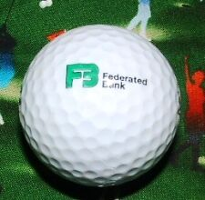LOGO GOLF BALL=Federated Bank,The (Financial/Financing Company) Golfball