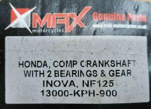 HONDA  ANF 125 INOVA 2003 - 2007 CRANSKSHAFT WITH BEARINGS P.N: 13000KPH900