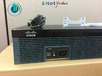 Cisco CISCO2921-SEC/K9  • Gigabit Security Bundle Router ■ 1 YEAR WARRANTY ■