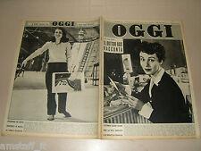 OGGI=1953/50=ORGOSOLO DAVIDE CAPRA=PIGNONE FIRENZE=LUCA OSTERIA DOTTOR UGO=