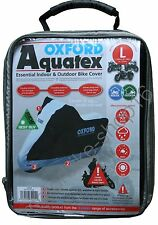 Oxford Aquatex Cover Out/Indoor Motorcycle Cover size L Large CV204