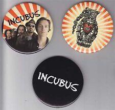 Incubus Light Grenades Rare promo 3 button set '06