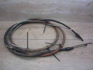 2x Seil Zug Handbremse Handbremsseil 9641453080 Peugeot 307 SW 3RFN Bj.03