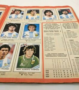 Panini World Cup Mexico 86 Sticker Album - Full Set, Complete